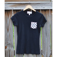 Women's 100% Cotton Kufiya Pocket Tee™