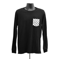 Long Sleeve 100% Cotton Kufiya Pocket Tee™