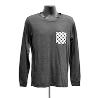 Long Sleeve Grey Kufiya Pocket Tee™