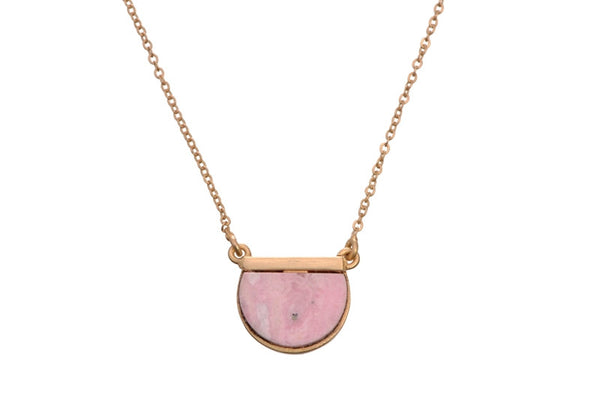 HALF STUD NECKLACE - SAAKI