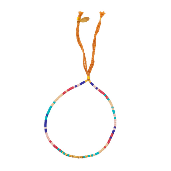 SAM BRACELET, BEADED MULTICOLOR - SAAKI