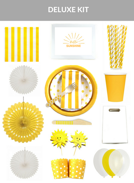 'Hello Sunshine' Party Kit