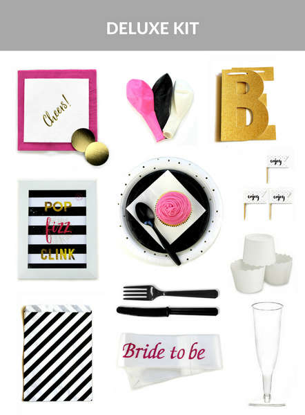 Pop, Fizz, Clink Hens Party Kit