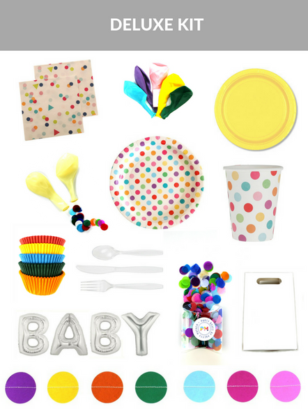 Confetti Baby Shower Kit (Deluxe Size)