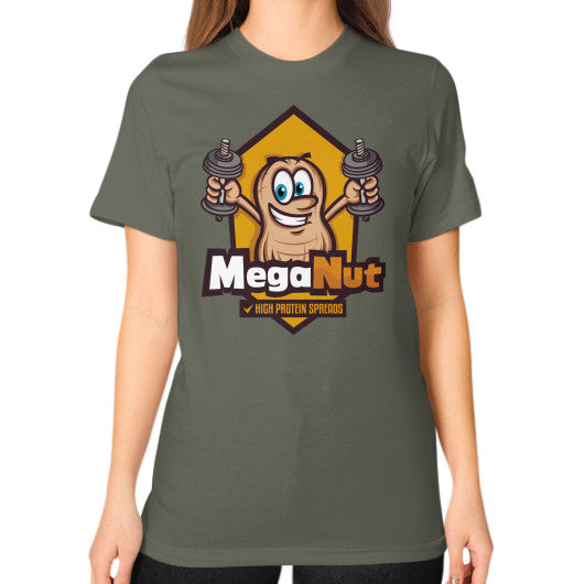 Unisex T-Shirt (on woman) Lieutenant MegaNut