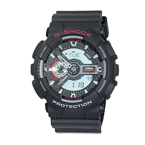 Casio Men's GA110-1A XL Series By G-Shock Classic Analog-Digital Black Watch