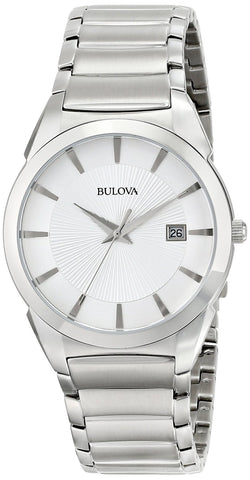 Bulova Men's Bracelet Calendar Dress Watch