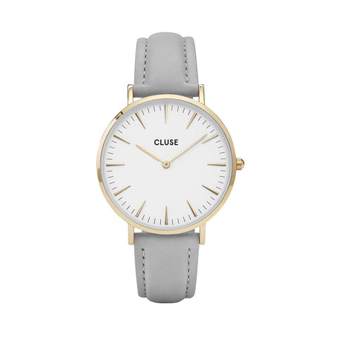 CLUSE La Bohème Gold White/Grey CL18414