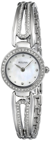 Bulova Women's 96L126 Crystal-Accented Bangle Watch