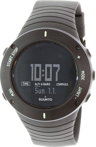 Suunto Core Ultimate Black Digital Multifunction Quartz Men's Watch SS021371000
