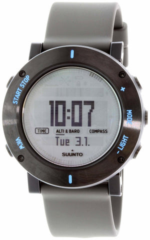 Suunto Core Graphite Crush Digital Silicone Multi Quartz Men's Watch SS021372000