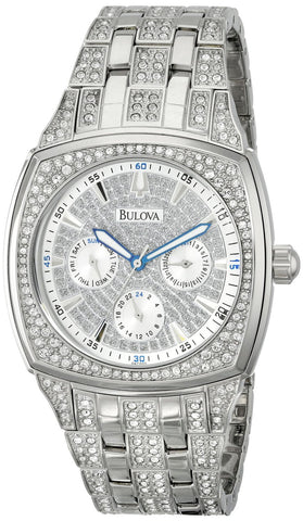 Bulova Men's Crystal Day-Date Watch #96C002