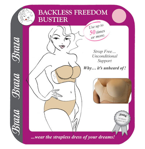 Backless Freedom Bustier - Sense Lingerie  - 1