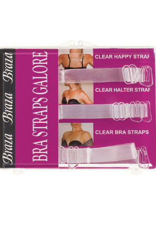 Clear Bra Straps Galore Set - Sense Lingerie