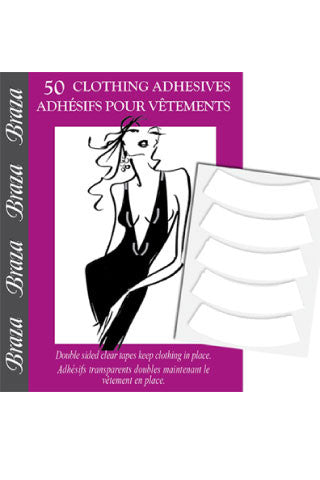 Curved Clothing Adhesives - Sense Lingerie  - 1