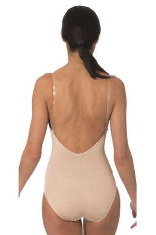 Low Back Bodysuit with Shelf Bra - Sense Lingerie  - 1