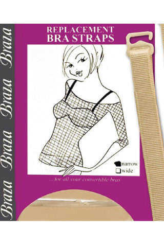 Replacement Bra Straps Wide - Sense Lingerie