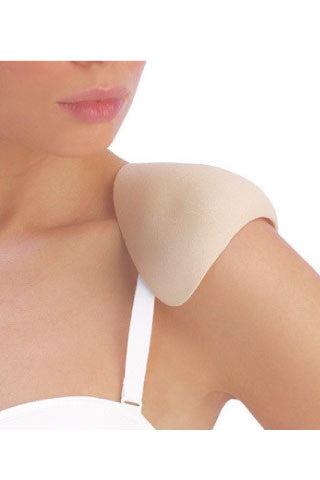 Natural Shoulder Pads with Flaps - Sense Lingerie