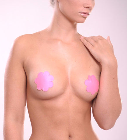 Faux Leather Reusable Nipple Covers - Sense Lingerie  - 3