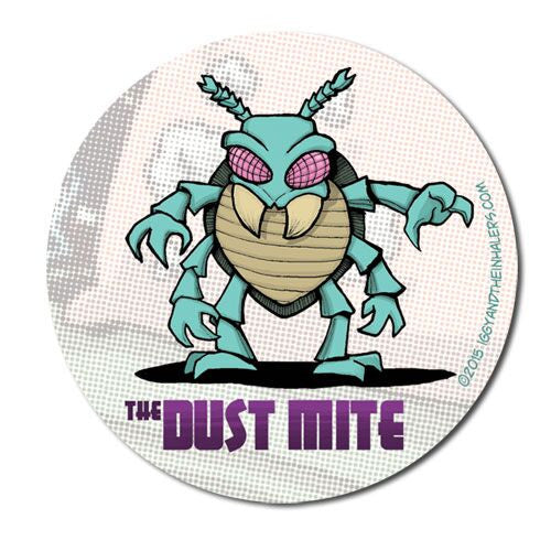 Character Sticker Roll (50 stickers) - The Dust Mite