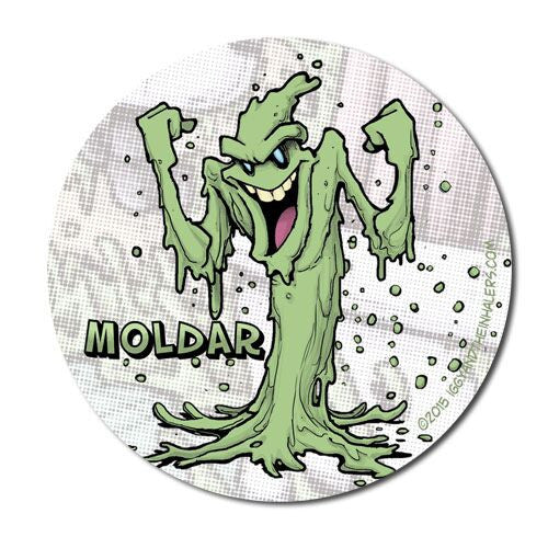 Character Sticker Roll (50 stickers) - Moldar