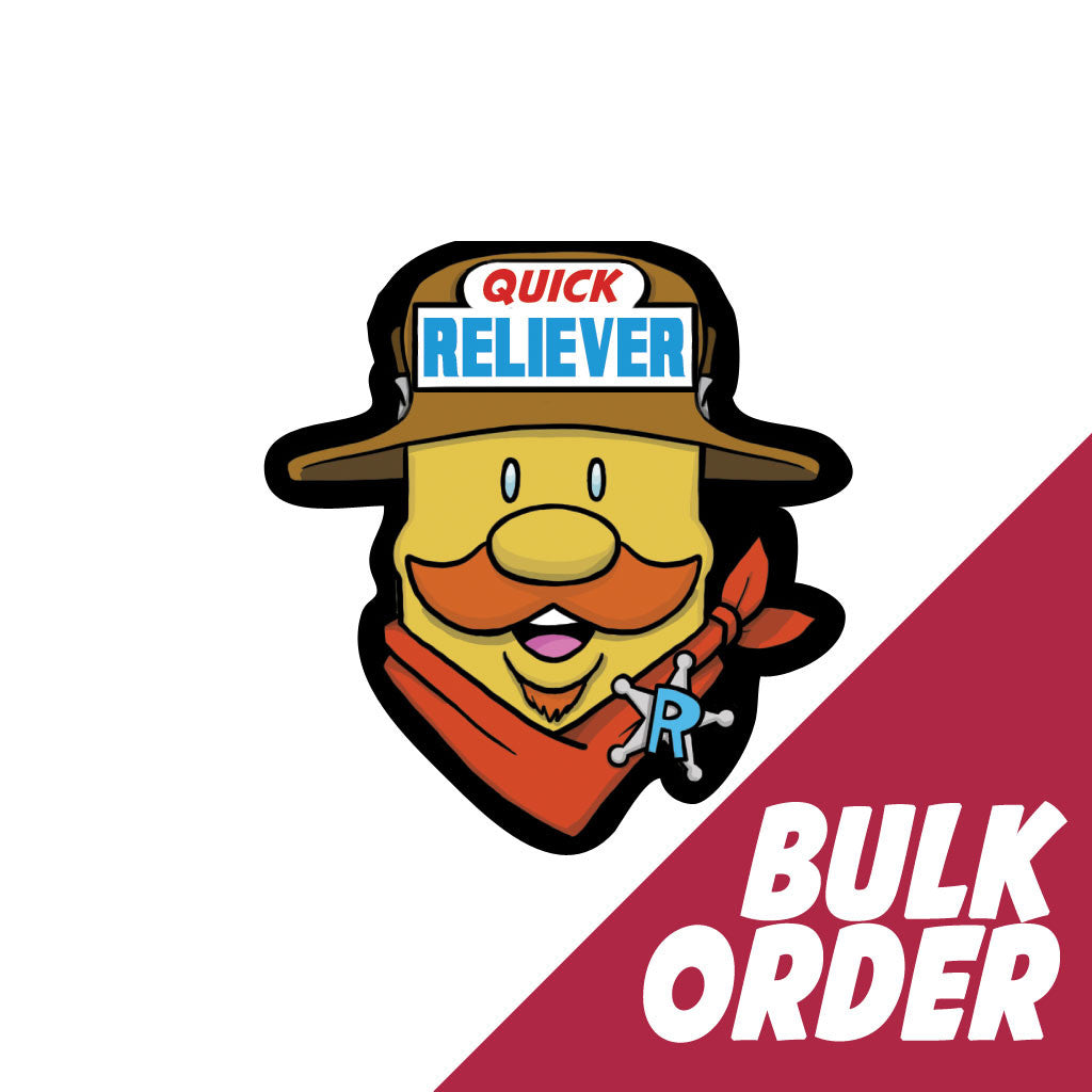 Quick Reliever Inhaler Labels - Bulk Order