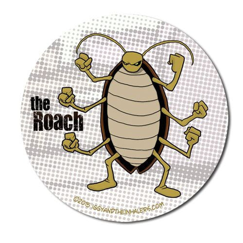 Character Sticker Roll (50 stickers) - The Roach
