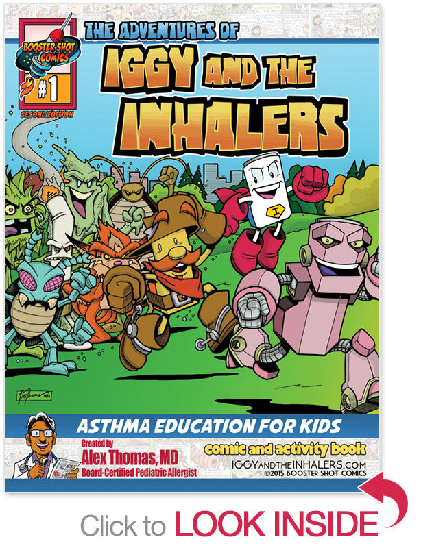 Comic Book for Asthma