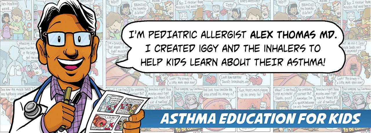 Pediatric Allergist Alex Thomas