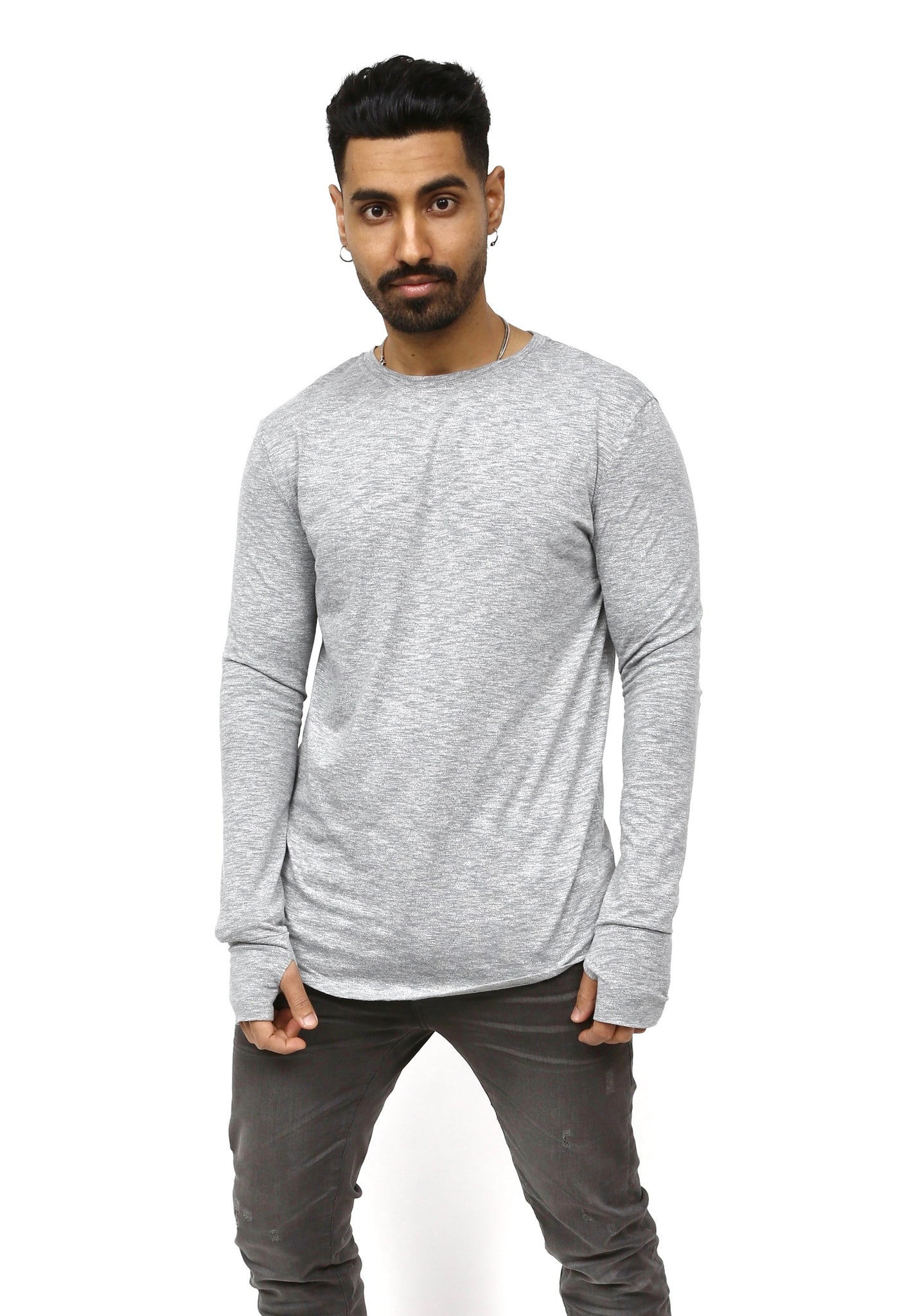 Long Sleeve Thermal - Grey