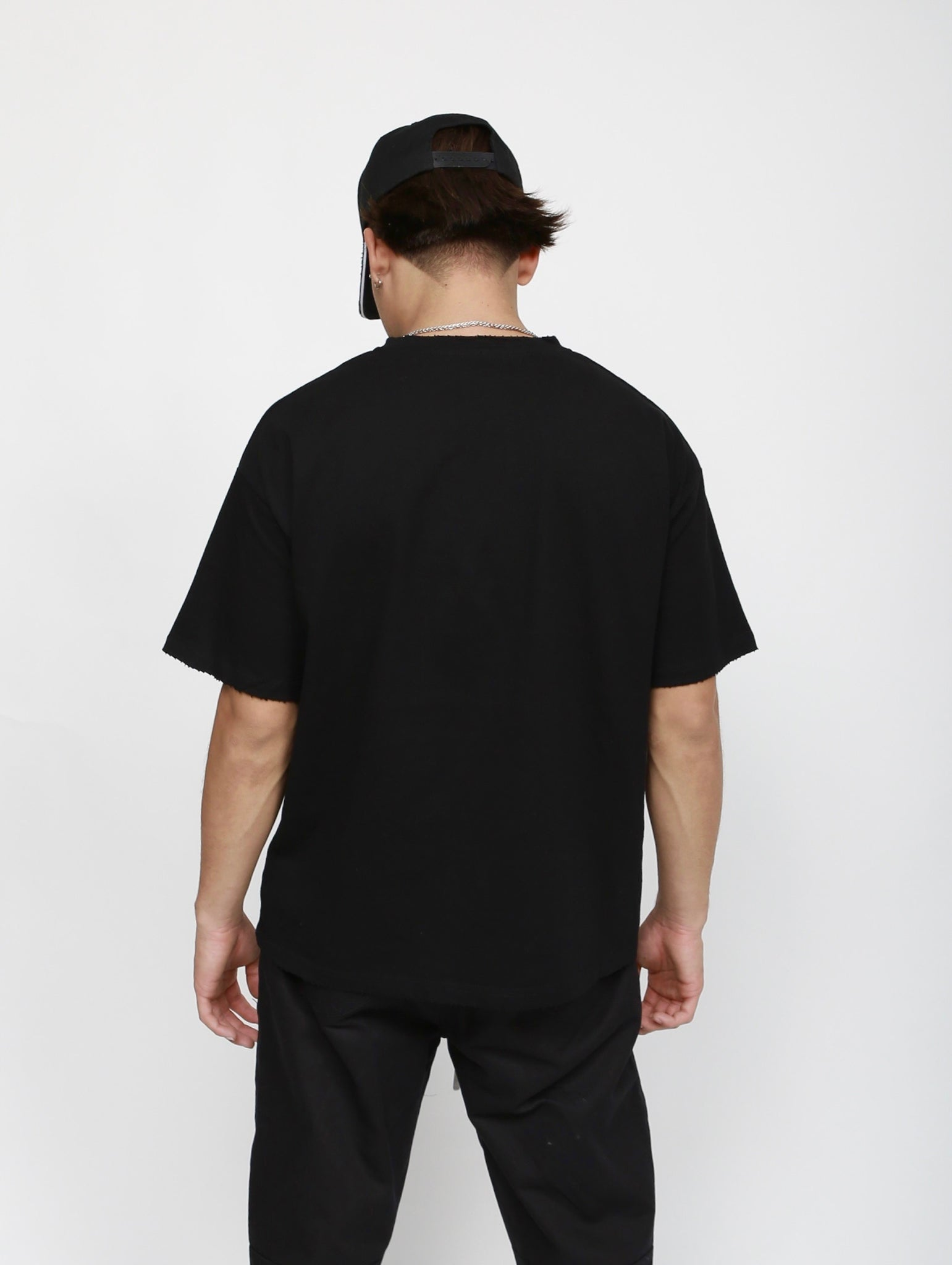 Classic Drop Shoulder Tee - Black