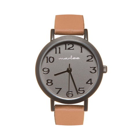 Marlee Watch Co Watch - Classic Luxe Tan