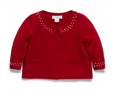 Pure Baby Parrot Cardi