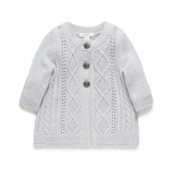 Pure Baby Rope Cable Cardi