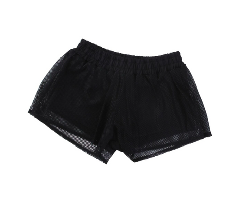 Alex & Ant Net Bike Short - Black