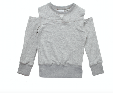 Alex & Ant Grey Cut Out Sweater