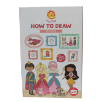 Tiger Tribe How- to-draw set (for girls)