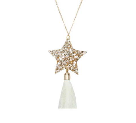 Revival Of Ivy - Stardust Necklace Ivory