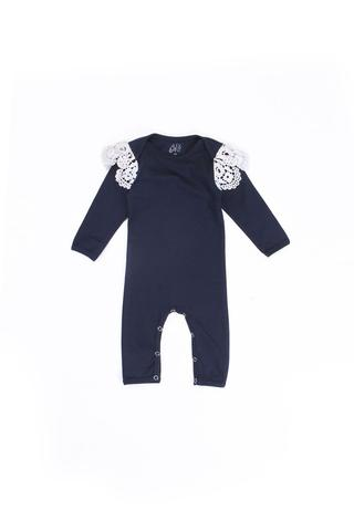 Alex & Ant - French Lace Onesie - Navy