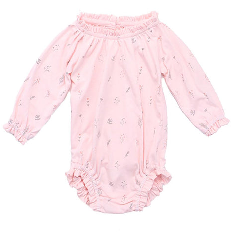 Alex & Ant Frill Playsuit - Pink Posey