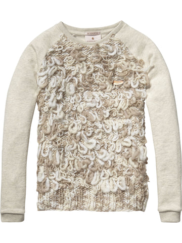 Scotch & Soda - Sweat with Knitted Loops
