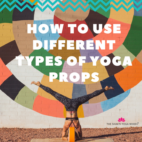 The Shakti Yoga Wheel®- How to Use Different Types of Yoga Pops