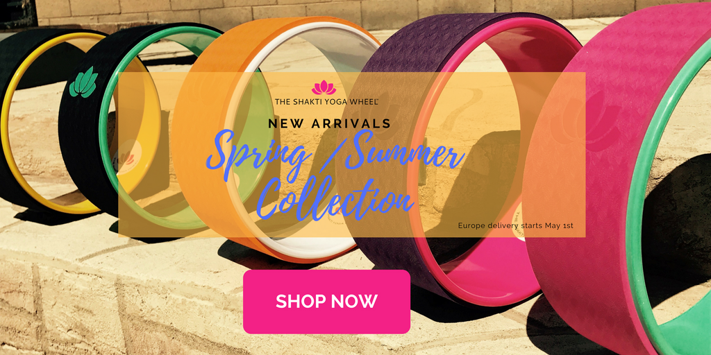 The Shakti Yoga Wheel Spring / Summer Collection