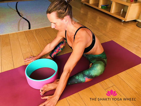 The Shakti Yoga Wheel™ Yoga Wheel Pose