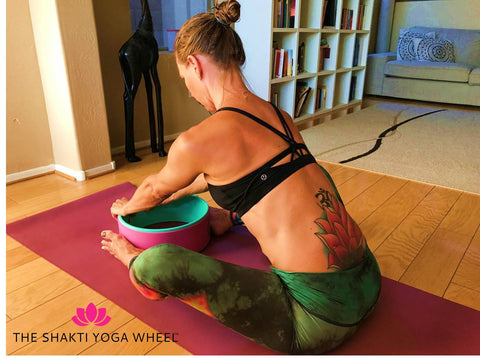 The Shakti Yoga Wheel™ Yoga Wheel Poses