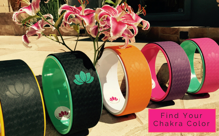 The Shakti Yoga Wheel®- Chakra Colors