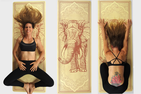 The Shakti Yoga Wheel®- Yoga Mat designed by BIOWORKZ