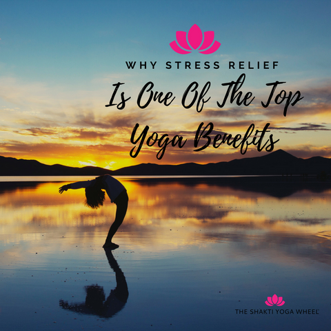 The Shakti Yoga Wheel® - Why Stress Relief is One of the Top Yoga Benefits