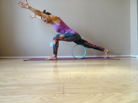 stretch it out  come on rolling  the shakti yoga wheel®