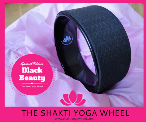 The Shakti Yoga Wheel - Black Beauty